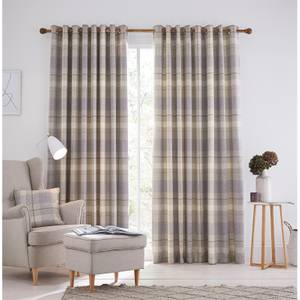 Helena Springfield Nora Lined Curtains 90 x 90 - Grape