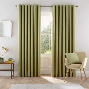 Helena Springfield Eden Lined Curtains 90 x 72 - Willow
