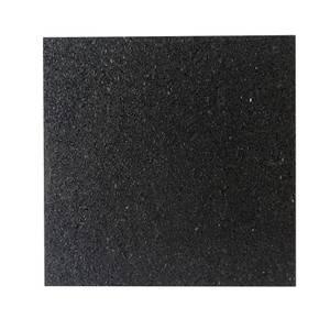 Rubber Tile Black 300mm