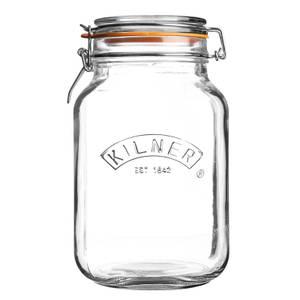 Kilner Clip Top Square Jar - 1.5L