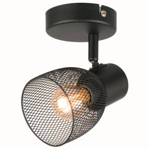 Emily Single Lamp Spotlight - Black
