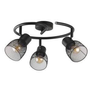 Emily 3 Lamp Spotlight Ring - Black