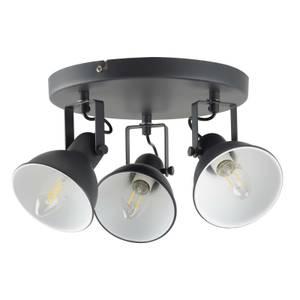 Alfie 3 Lamp Spotlight, Plate, Grey
