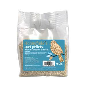 Honeyfields Suet Pellets with Mealworm & Insect