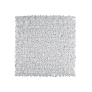 Aqualona Pebbles Shower Mat - Clear