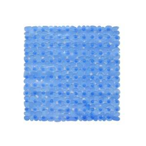Aqualona Pebbles Shower Mat - Blue