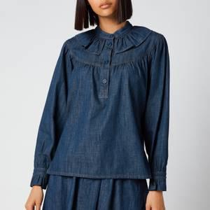 See by Chloé Women's Flou Denim Shirt - Denim