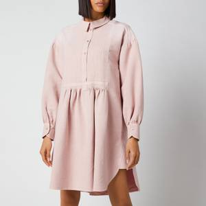 See by Chloé Women's Garment Dyed Cotton Midi Dress - Cameo Rose