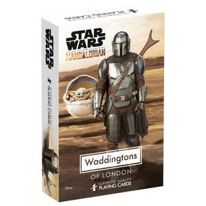 Star Wars The Madalorian Waddingtons No 1 Playing Cards