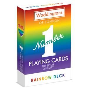 Rainbow Waddingtons No 1 Playing Cards