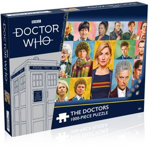 Doctor Who The Doctors 1000 piece Jigsaw Puzzle