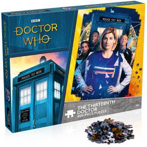 Doctor Who The Thirteenth Doctor 1000 piece Jigsaw Puzzle