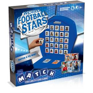 World Football Stars Blue Top Trumps Match Board Game