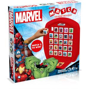Marvel Top Trumps Match Board Game
