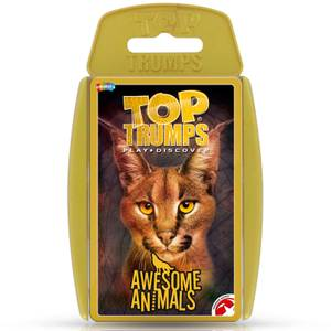 Awesome Animals Top Trumps Classics Card Game