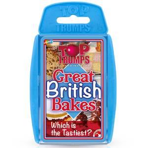 British Bakes Top Trumps Classics Card Game