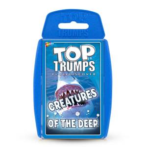 Creatures of the Deep Top Trumps Classics Card Game