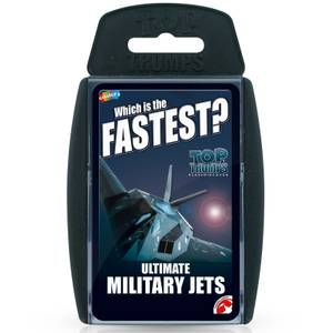 Ultimate Military Jets Top Trumps Classics Card Game