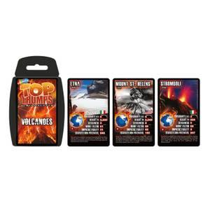 Volcanoes Top Trumps Classics Card Game
