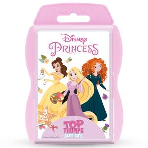 Disney Princess Top Trumps Juniors Card Game