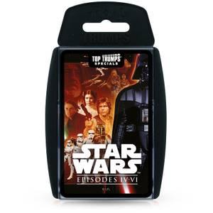 Star Wars Episodes 4-6 Top Trumps Specials Card Game