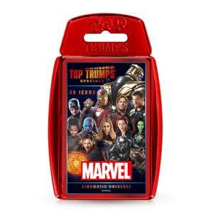 Marvel Cinematic Universe Top Trumps Specials Card Game
