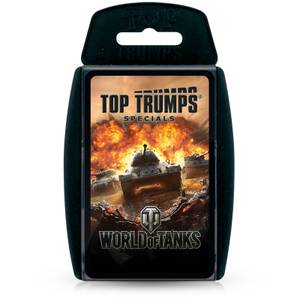 World of Tanks Top Trumps Specials Card Game