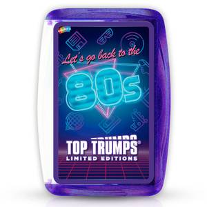 1980s Top Trumps Limited Editions Card Game
