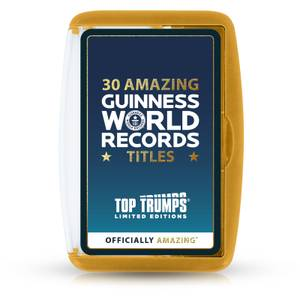 Guinness World Record Top Trumps Limited Editions Card Game