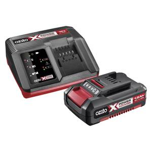 Ozito by Einhell Power X Change 18V 1.5Ah Battery & Charger Pack
