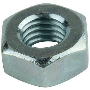 Pinnacle Hex Nuts M6 Zinc Plated - 50 Pack