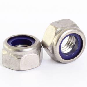 Pinnacle Lock Nuts M6 Stainless Steel 316 - 10 Pack