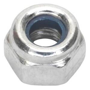 Pinnacle Lock Nuts M12 Zinc Plated - 30 Pack