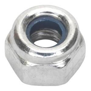 Pinnacle Lock Nuts M10 Zinc Plated - 50 Pack