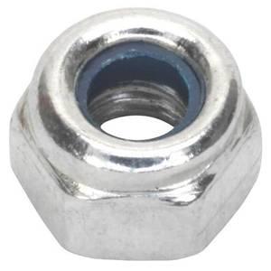 Pinnacle Lock Nuts M8 Zinc Plated - 50 Pack