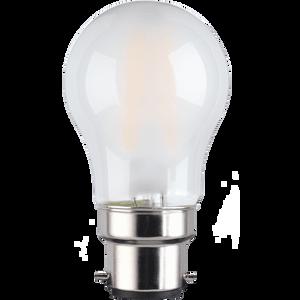 TCP Filament Globe Coat 40W BC Warm Dimmable Light Bulb