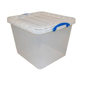 Really Useful Storage Box - 60L - Clear