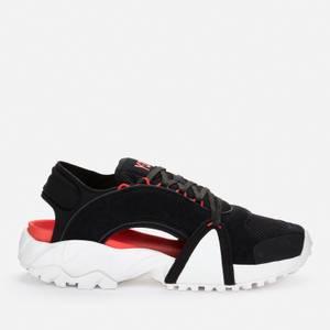Y-3 Men's Notoma Sandals - Black/Chalk White/Red