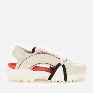 Y-3 Men's Notoma Sandals - Clear Brown/Off White/Red