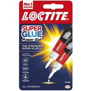 Loctite Super Glue Power Gel Duo 2x3g