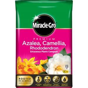 Miracle Gro Premium  Azalea, Camellia & Rhododendron Ericaceous Compost - 40L