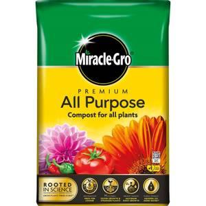 Miracle Gro Premium All Purpose Compost - 40L