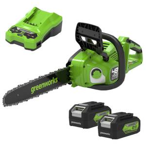 Greenworks 48V Chainsaw with Charger