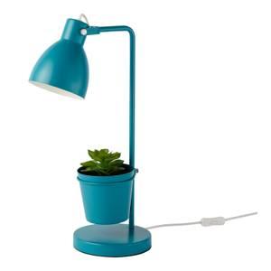 Bobby Plant Task Lamp - Teal