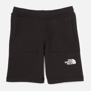 The North Face Boys' Youth Fleece Shorts - Black