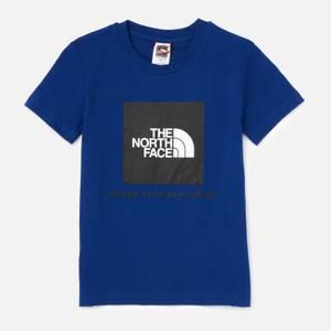 The North Face Boys' Youth Short Sleeve Box T-Shirt - Blue