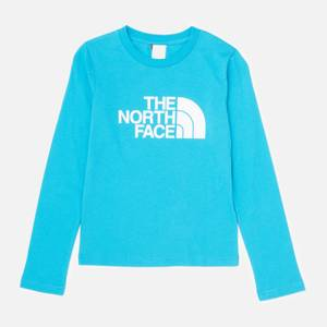 The North Face Boys' Youth Long Sleeve Easy T-Shirt - Blue