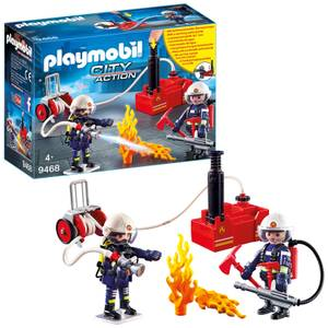 Playmobil City Action Firefighters with Water Pump (9468)