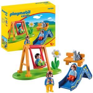 Playmobil 1.2.3 Children's Playground for Children 18 Months+ (70130)