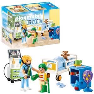 Playmobil City Life Children's Hospital Room (70192)